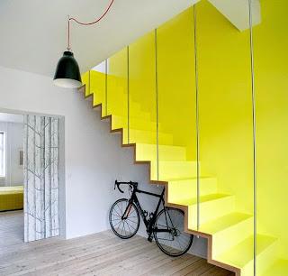 Amarillo como color de contraste
