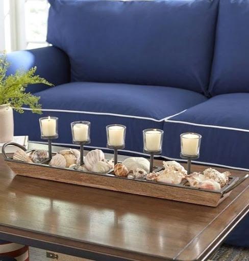 15 Coastal Beach Candles & Candle Holder Decor Ideas ...