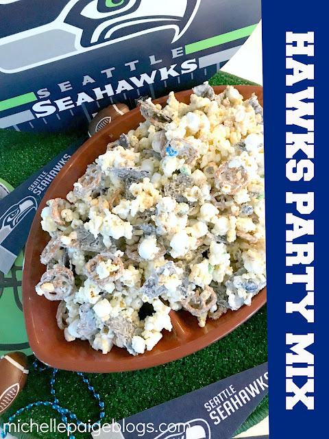 Football Party Snack Mix
