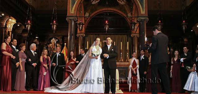 foto de noivos