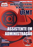 apostila concurso UFMT concurso Mato Grosso - MT.