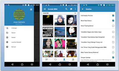 BBM MOD NEW 2.13.0.26 SIMPLE FEATURES