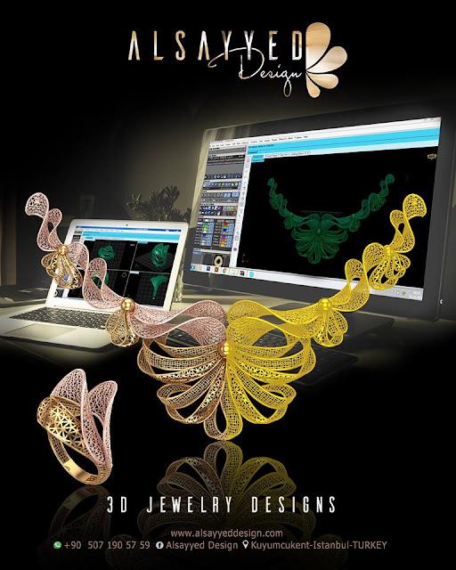 3D Kuyumculuk Mücevher Şirket Firma Logo Tasarımı
