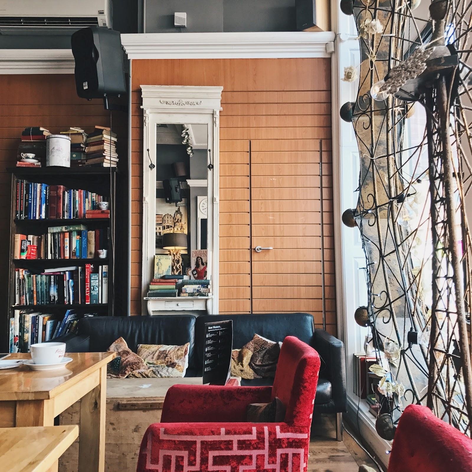 The Book Cafe, Derby, Derbyshire, Architecture, Katie Writes Blog, Katie Writes,