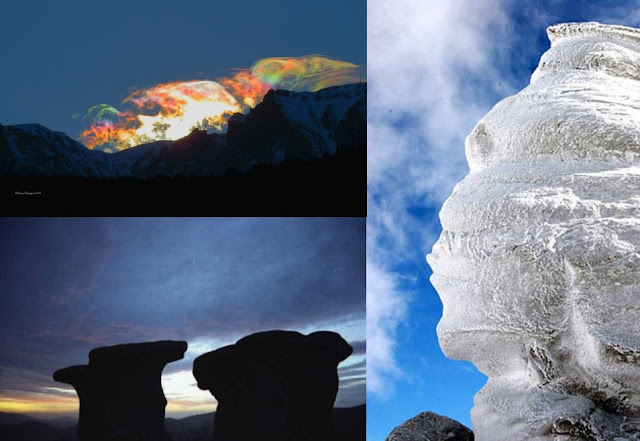 Rare Sky Phenomena Seen From Around The World  Sky%2BPhenomenon%2BBucegi%2BMountains%2BRomania%2B%25282%2529