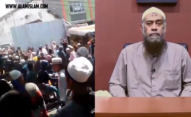 Mesjid sunni wahabi yang dibina oleh yazid jawas dicabut IMB karena dianggap memecah ummat Islam