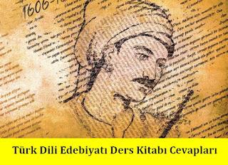 11. Sınıf Türk Dili ve Edebiyatı Meb Yayınları Ders Kitabı Cevapları