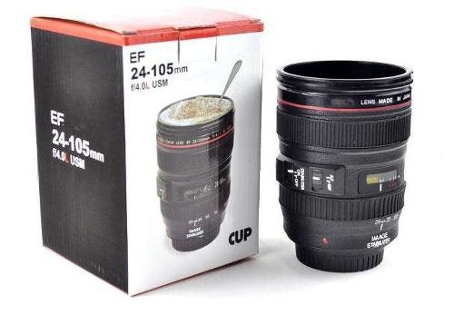 483ad8cea9 Taza de la lente de cámara / lente taza de café (taza diseño creativo es la  simulación para el Canon EF 24-105mm / 1:1 Copa del Café Modelo
