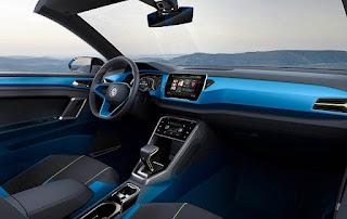 Volkswagen T-Roc Convertible Concept Interior