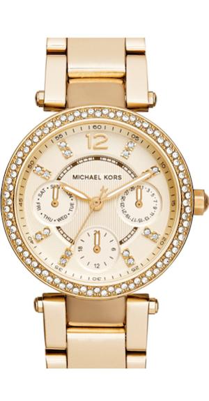 Michael Kors 'Mini Parker' Multifunction Bracelet Watch