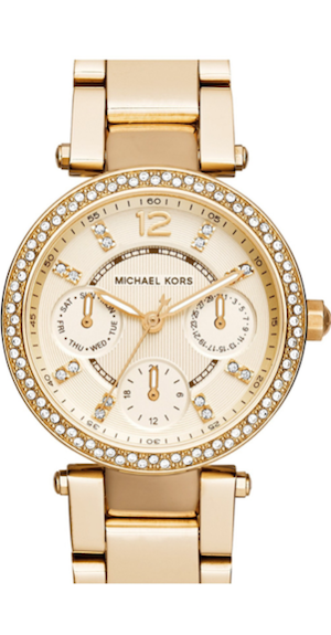 Michael Kors 'Mini Parker' Multifunction Bracelet Watch