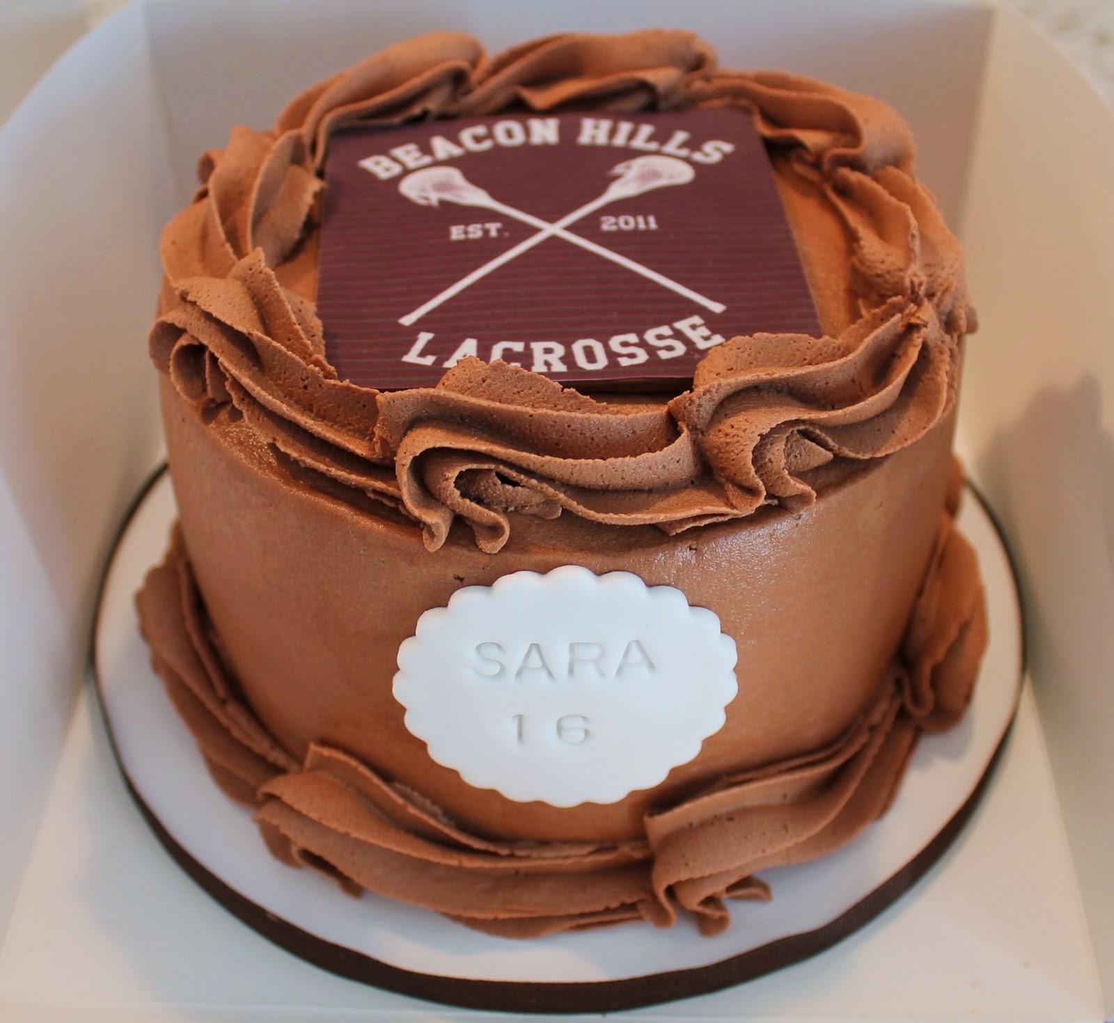 Creative Cakes By Lynn Teen Wolf Cake