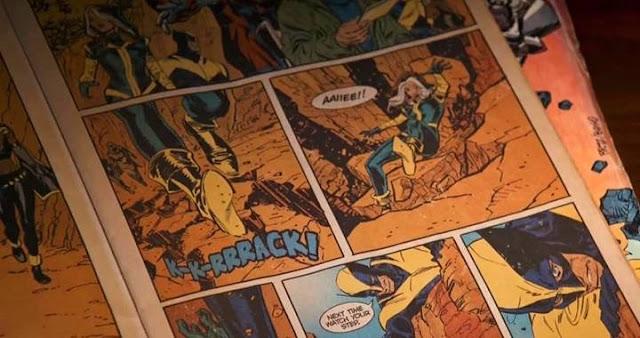 El comic de X-Men que Hugh Jackman hojea en Logan