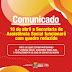 SECRETARIA DE AÇÃO SOCIAL FUNCIONARÁ COM PARTE DOS SERVIDORES NESTA QUARTA-FEIRA 10