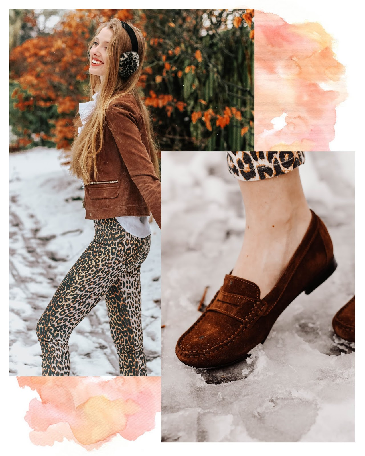 Hugs & Co Penny Brown Suede Loafers