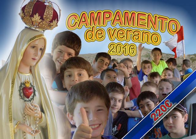 Campamento de Verano 2016 Heraldos Madrid