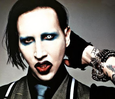 Foto de Marilyn Manson tenebroso