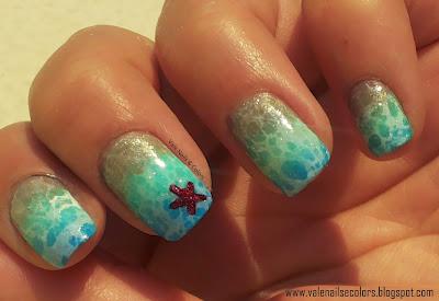 sea wave nail