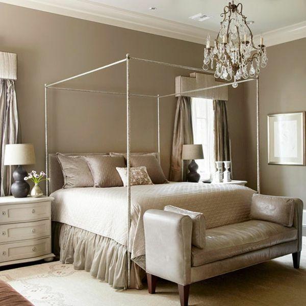 Schlafzimmer Wandfarbe Beige Wandgestaltung Schlafzimmer: 10 Dormitorios De Color Beige