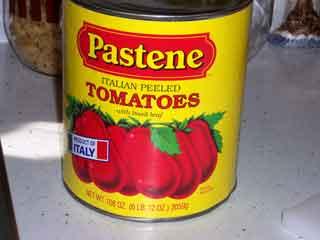 Pastene tomatoes