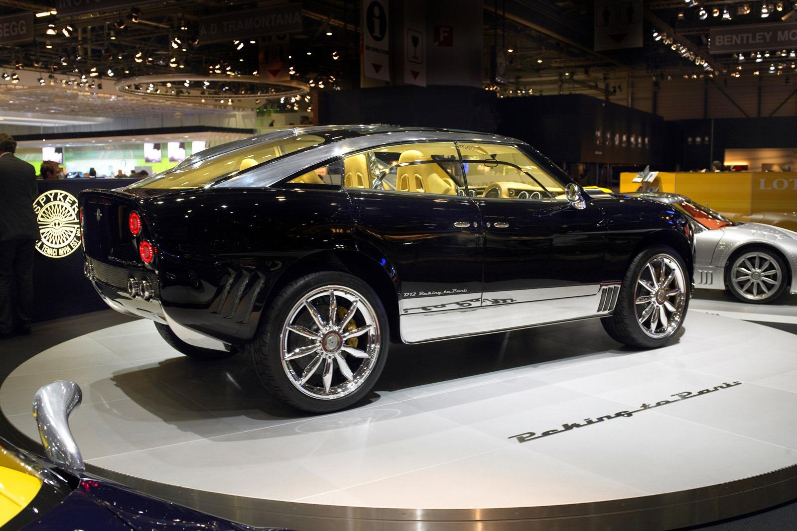 Hybrid Spyker SUV Back On Track May Debut At Geneva 2018