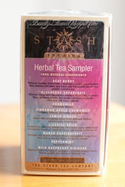 Stash Herbal Tea Sampler Beauty Flawed
