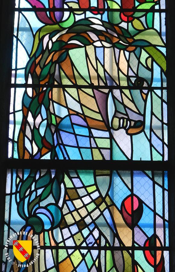 Vitraux Metz patrimoine de lorraine: metz (57) - vitraux de jean cocteau à saint