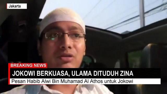 Habib Alwi: Saat Jokowi Berkuasa Ulama Difitnah Berzina, Saat Pemilu Ulama Digandeng Mesra
