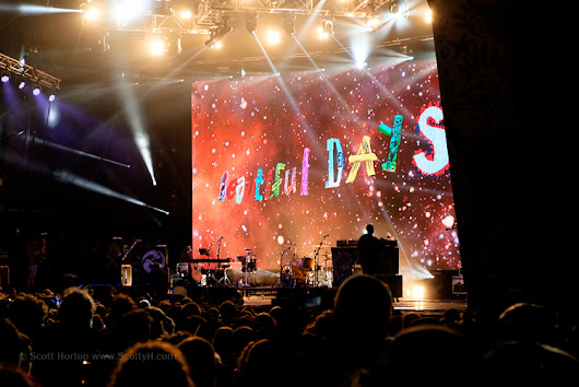Beautiful Days Festival 2016 - a photo record