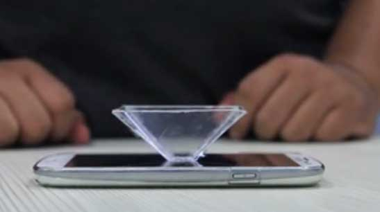 Cara Membuat Layar Hologram Smartphone Tanpa Biaya