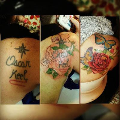 Cobertura de antiguo tatuaje