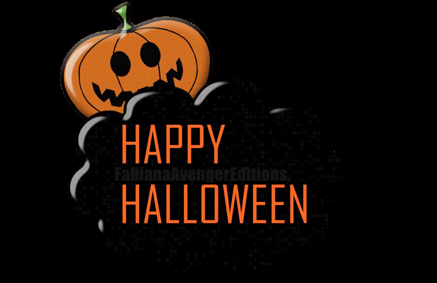 Logo de Halloween con calabaza