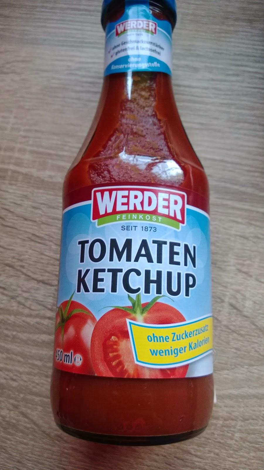 Tomaten Ketchup ohne Zuckerzusatz.