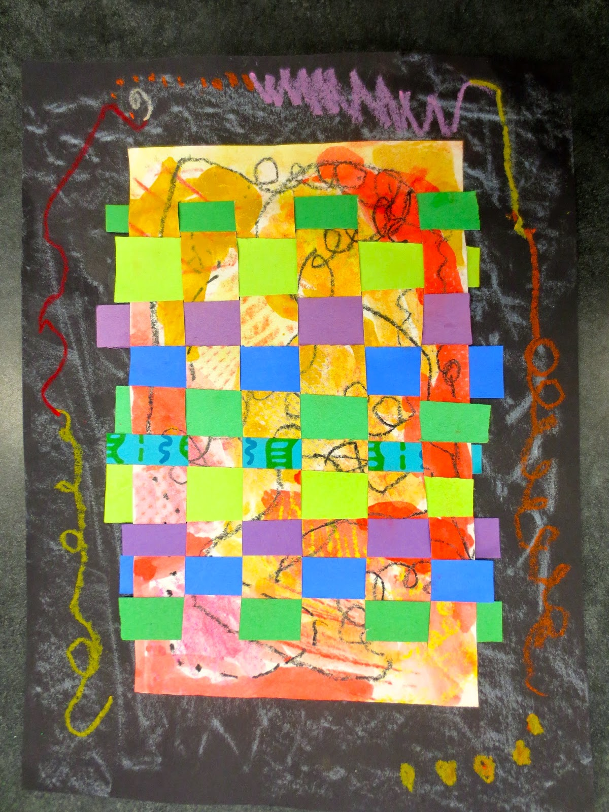 Zilker Elementary Art Class End of the Year Projects