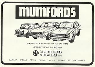 Mumfords - Truro