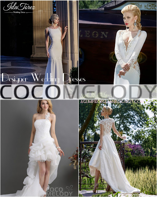 The Perfect Summer Wedding Dress ft. Cocomelody - A Glimpse of Glam Andrea Tiffany