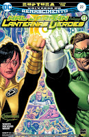 DC Renascimento: Hal Jordan e a Tropa dos Lanternas Verdes #22