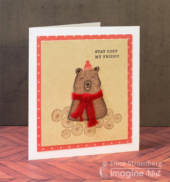 Cardmaking: Heartfelt, warm winter wishes!