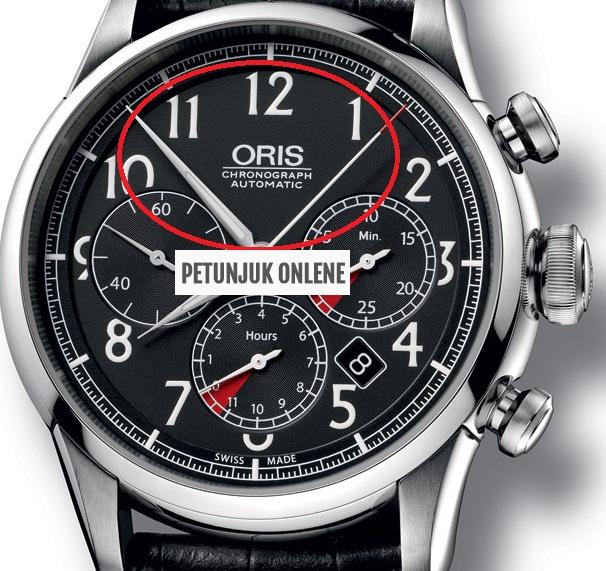 arti dan fungsi choronograph pada jam tangan