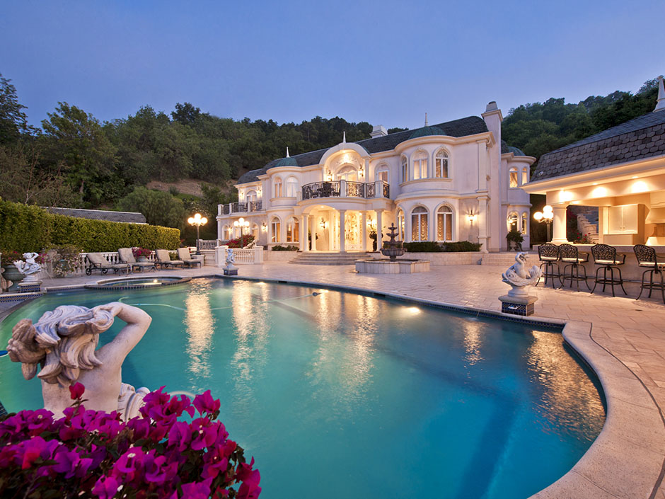 Passion for luxury french chateau in studio city los - 8 bedroom homes for sale in los angeles ...
