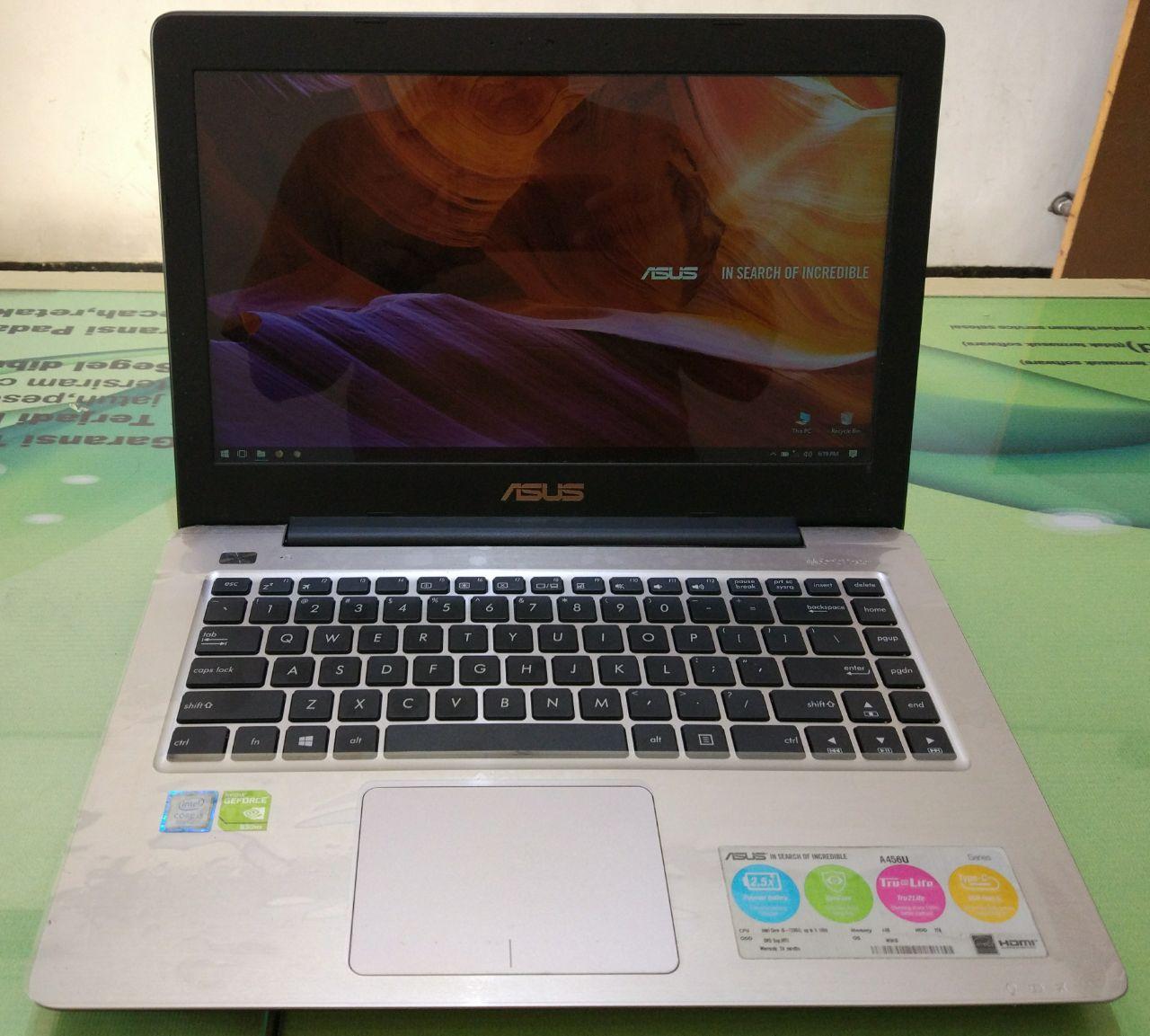 Asus Notebook A456ur Core I5 7200 4gb 1tb Gt 930mx 2gb 147 Daftar Wx037d Dark Blue 14 Inch 6200u 4 Gb 1 Tb Dos Ga092t Kabylake Geforce Gt930mx Fullset Laptop Bekas