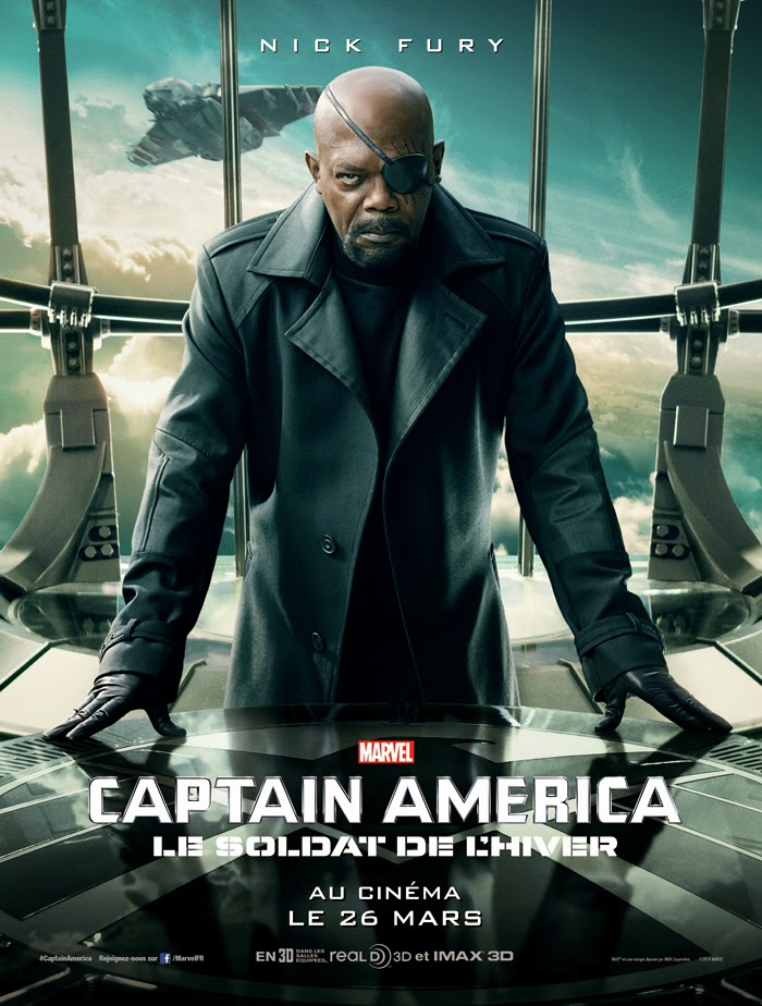 Affiche Captain America 2 - Nick Fury
