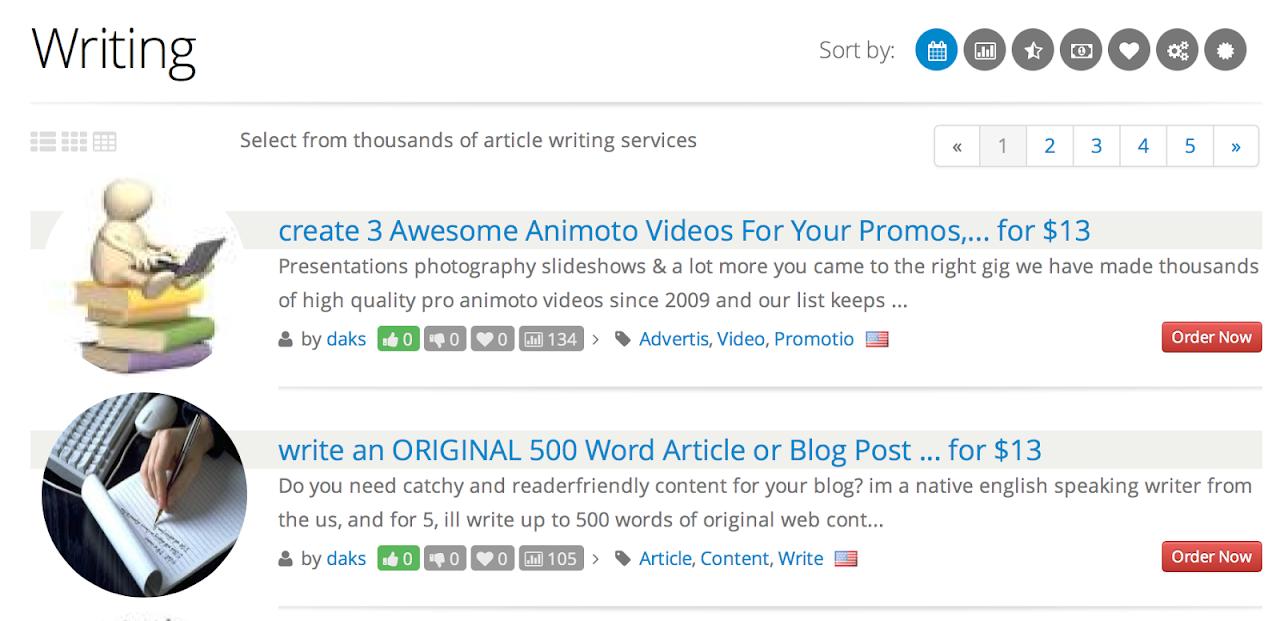 Cerchi articolisti per il tuo blog?