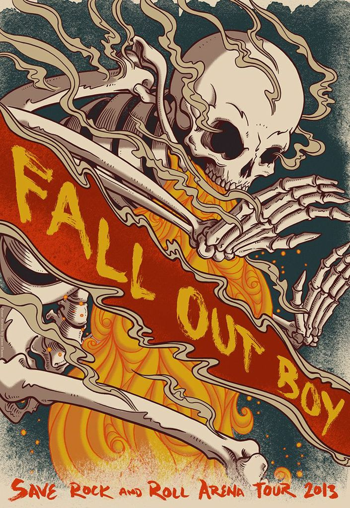 Fall Out Boy Wallpaper 2013 Save Rock And Roll Snickety Snacks