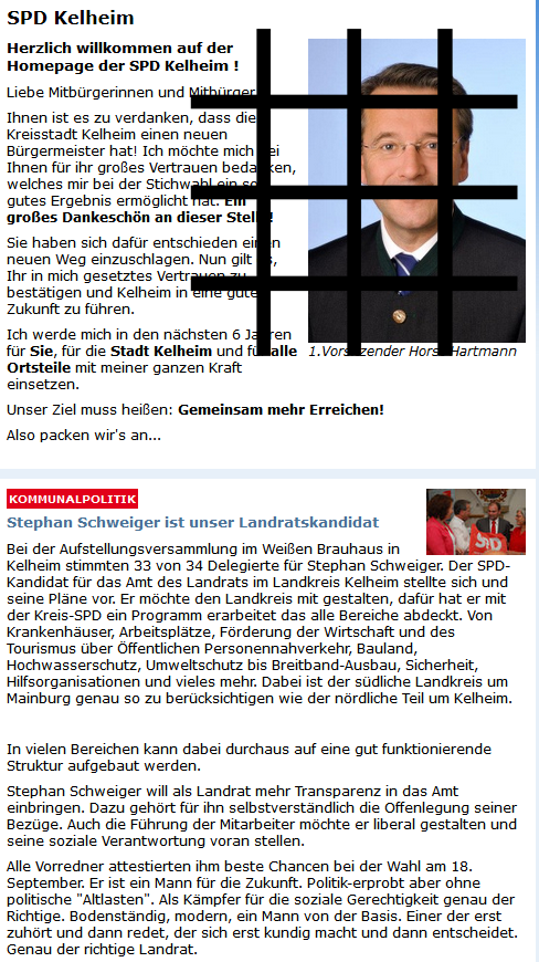 Lügenpolitik der SPD, hier Kelheim
