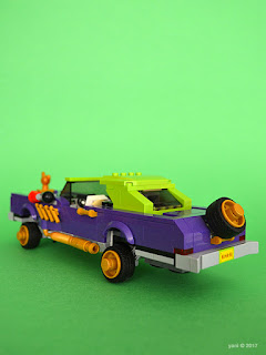 the lego batman movie - the joker notorious lowrider - trunk time