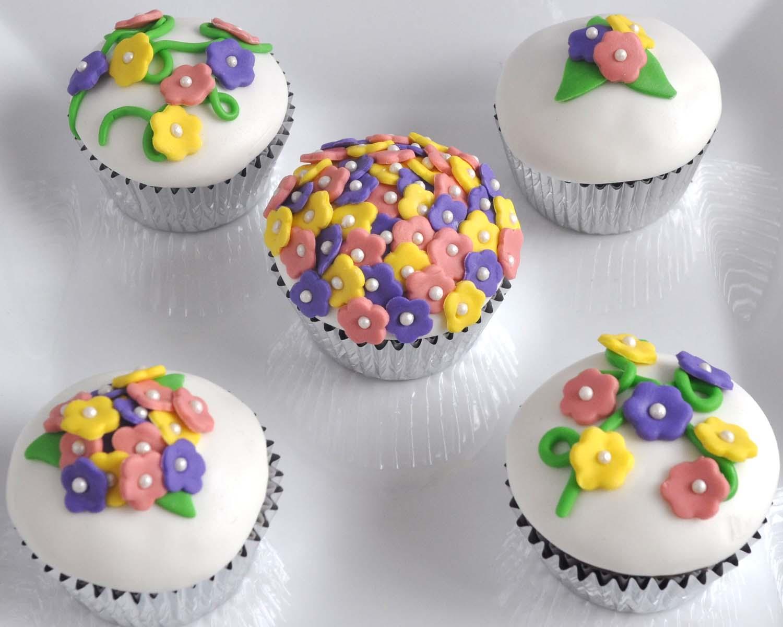 Beki Cooks Cake Blog Easy Spring Blossom Cupcakes