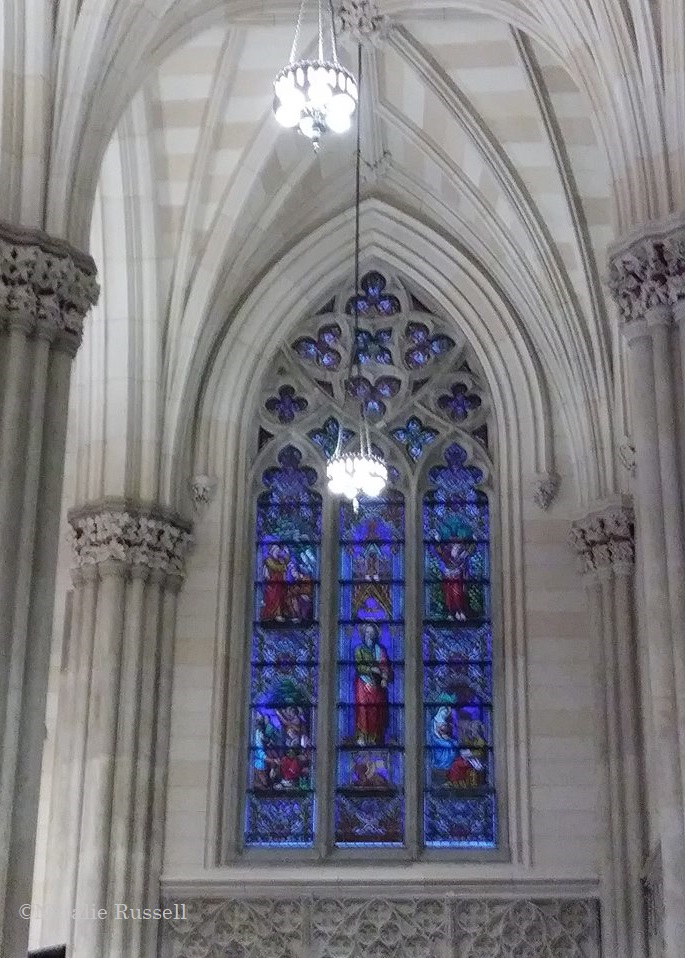 St  Patrick's Cathedral in NYC and The Christmas Nativity Scene