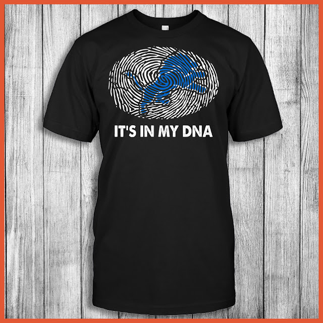 Detroit Lions - It's In My DNA T-Shirt