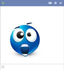 Shock Facebook Sticker